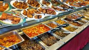 Self service pakistani restaurant. Self service pakistani and indian food restaurant Stock Image