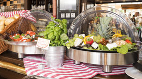 Self-service salad bar Stock Photography