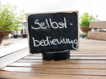 Self service sign in Germany Stock Images