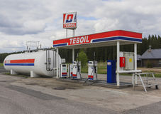 A self-service station Stock Images
