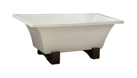 Self standing bathtub Stock Photography
