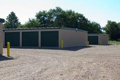 Self Storage Buildings Stock Photo