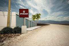 Self storage Royalty Free Stock Image