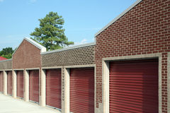 Self Storage facility Royalty Free Stock Images