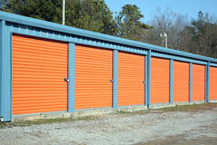 Self Storage facility Royalty Free Stock Photo