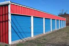 Self storage facility Stock Image
