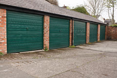 Self storage garages Royalty Free Stock Image