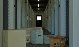 Self storage Stock Images