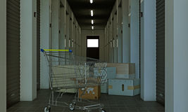 Self storage Stock Photo