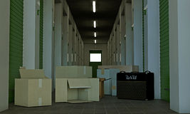 Self storage Royalty Free Stock Photos