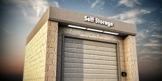 Self storage Royalty Free Stock Photography