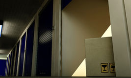 Self storage Royalty Free Stock Photos