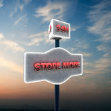Self storage sign Royalty Free Stock Photo