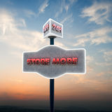 Self storage sign Royalty Free Stock Images