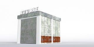 Self storage unit Stock Image