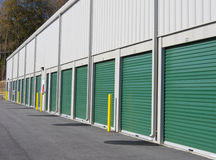 Self Storage Units Stock Images