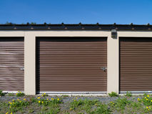 Self Storage Units Royalty Free Stock Photo