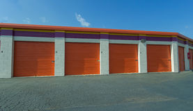 Self-Storage Units Royalty Free Stock Images