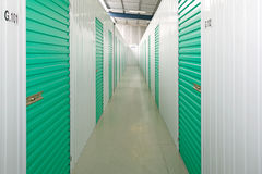 Self storage units Royalty Free Stock Images