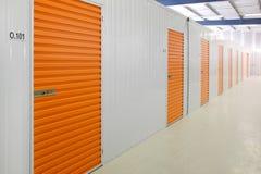 Self storage units Royalty Free Stock Photo