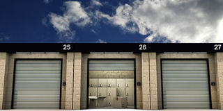 Self storage Stock Photography