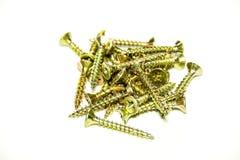 Self-tapping screws Royalty Free Stock Image