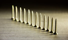 Self-tapping screws Royalty Free Stock Photos