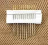 Self threading needles Stock Images
