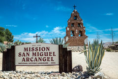 Self-Titled Spanish Mission Stock Image