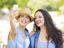 Selfie во время каникул Стоковые Изображения RF
