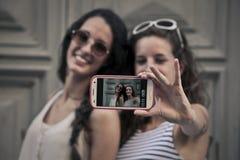Selfie совместно Стоковые Фотографии RF