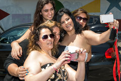 Selfie lizenzfreies stockfoto