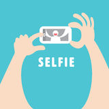 Selfie Photo stock
