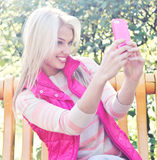 Selfie Fotografia de Stock