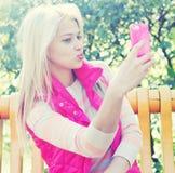 Selfie Obrazy Stock