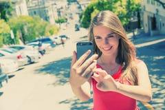 Selfie Arkivfoton