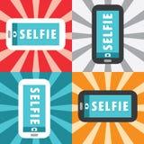 Selfie Fotografia Stock
