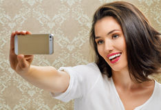 Selfie Foto de Stock