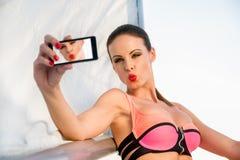 Selfie Стоковое Изображение RF