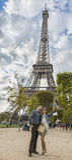Selfie在巴黎 库存照片