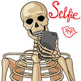 Selfie Stockfoto