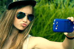 Selfie Fotos de Stock Royalty Free