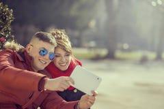 Selfie 免版税库存照片