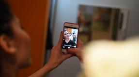 Selfie lizenzfreie stockfotografie
