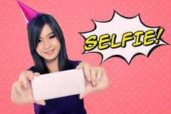 Selfie! Stockbild