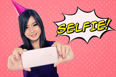 Selfie! Immagine Stock