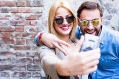 Selfie image libre de droits