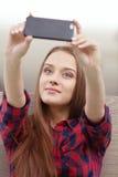 Selfie 免版税图库摄影