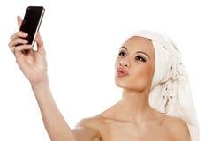 Selfie Lizenzfreie Stockbilder