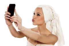 Selfie Royaltyfri Bild